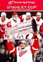 Detroit Red Wings Stanley Cup 2007-2008 champions