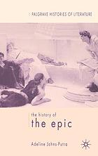 The history of the epic