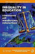 Inequality in education : comparative and international perspectives