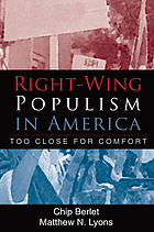 Right-wing populism in America : too close for comfort