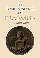 The Correspondence of Erasmus. Letters 1252 to 1355, [years] 1522 to 1523