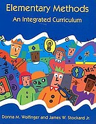 Elementary methods : an integrated curriculum