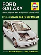 Ford Galaxy service and repair manual