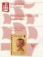 Study guide to accompany Zimbardo/Gerrig Psychology and life, fifteenth edition