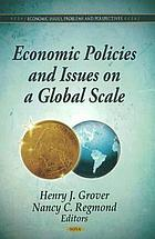 Economic policies and issues on a global scale