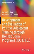 Development and evaluation of positive adolescent training through holistic social programs (P.A.T.H.S.)