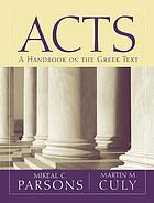 Acts : a handbook on the Greek text