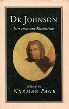 Dr. Johnson : interviews and recollections