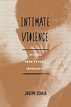 Intimate Violence : Attacks Upon Psychic Interiority.
