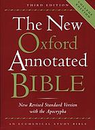 The new Oxford annotated Bible : with the Apocryphal/Deuterocanonical books