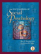 The encyclopedia of social psychology Book Cover