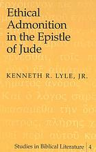Ethical admonition in the Epistle of Jude