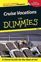 Cruise vacations for dummies, 2003