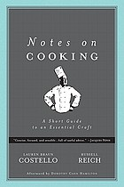 Notes on cooking : a short guide to an essential craft