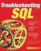Troubleshooting SQL