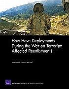 How have deployments during the war on terrorism affected reenlistment?