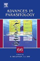 Advances in parasitology. Vol. 66.