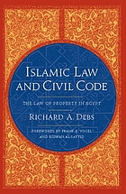 Islamic law and civil code : the law of property in Egypt