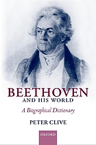 Beethoven and his world : a biographical dictionary