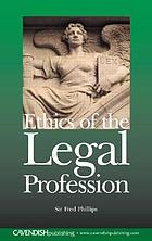 Ethics of the legal profession : a new order