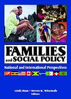 Families and Social Policy: National and International Perspectives cover image