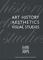 Art history, aesthetics, visual studies