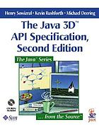 The Java 3D API specification