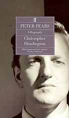 Peter Pears : a biography