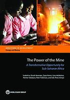 The power of the mine : a transformative opportunity for Sub-Saharan Africa