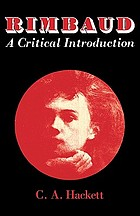Rimbaud, a critical introduction