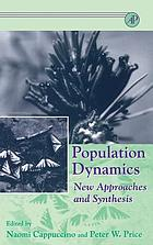 Population dynamics : new approaches and synthesis
