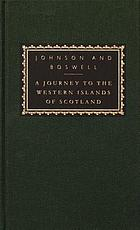 A journey to the Western Islands of Scotland : with, the journal of a tour to the Hebrides