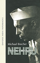 Nehru : a political biography