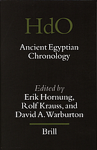 Ancient Egyptian chronology