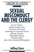 Sexual Misconduct and the Clergy cover image