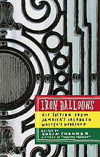 Iron balloons : fiction from Jamaica's Calabash Writer's Workshop