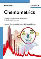 Chemometrics : statistics and computer application in analytical chemistry