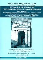 International Seminar on Nuclear War and Planetary Emergencies, 21st session : new epidemics, greenhouse effect, ozone hole, defence against cosmic objects, Chernobyl--results & consequences, decommissioning of conventional & chemical weapons, terrorism, proliferation & Second Cold War :