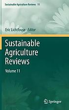 Sustainable agriculture reviews