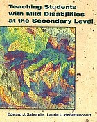 Teaching students with mild disabilities at the secondary level