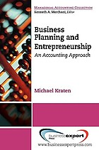 Business planning and entrepreneurship : an accounting approach