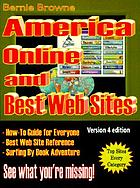 America Online and best web sites