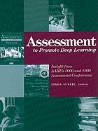 Assessment to promote deep learning
