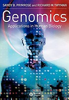 Genomics : applications in human biology