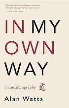 In my own way : an autobiography