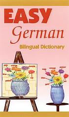 Easy German bilingual dictionary