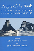 People of the book : thirty scholars reflect on their Jewish identity