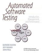Automated software testing : introduction, management, and performance