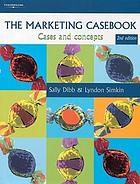 The marketing casebook : cases and concepts