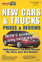 Edmund's new cars & trucks, 2002 : prices & reviews.